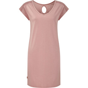 tentree Waldron Dress Dame quartz pink heather